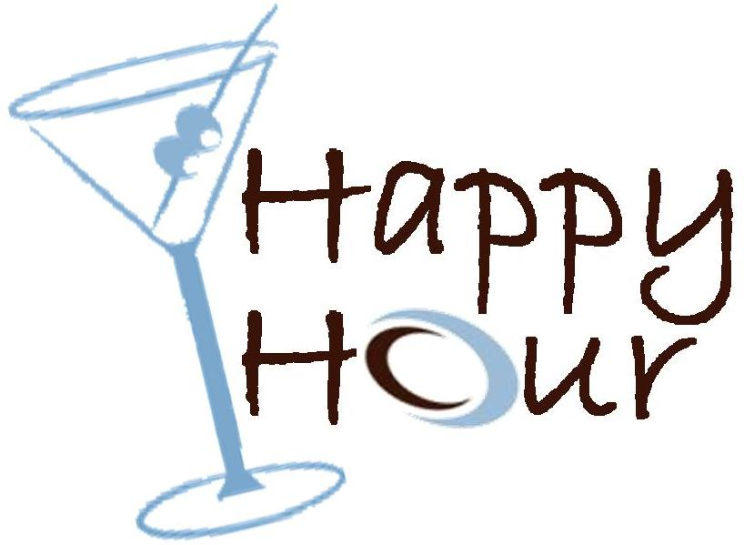 Holiday Happy Hour Clip Art